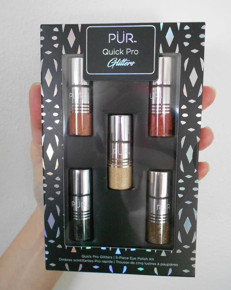 PUR Cosmetics Quick Pro Holiday Glitters