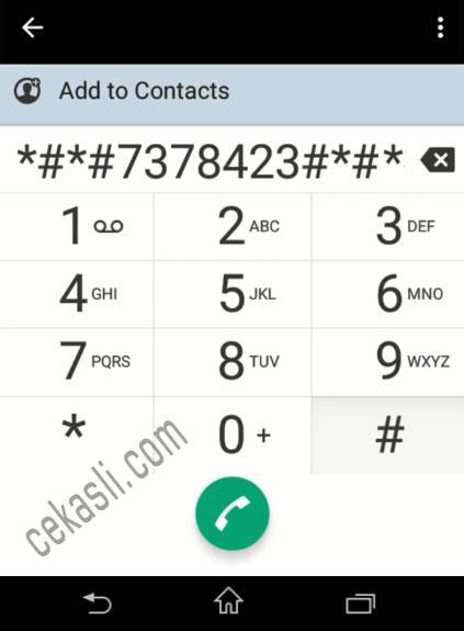 5 Cara Kunci (Lock) 4G Sony Xperia dengan Kode Rahasia