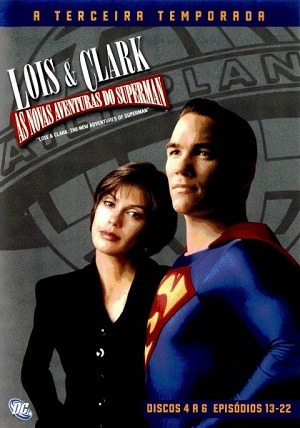 Lois e Clark - As Novas Aventuras do Superman 3ª Temporada Séries Torrent Download capa