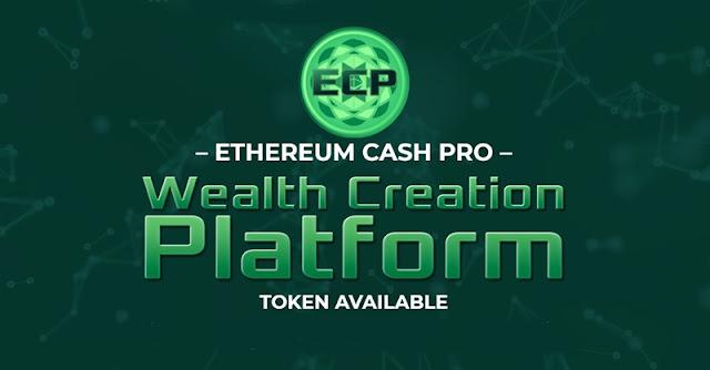 Ethereum Cash Pro libera 10 mil Tokens