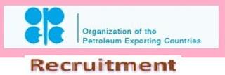 OPEC Fresh Job Recruitment May 2018 for Energy Models Analyst