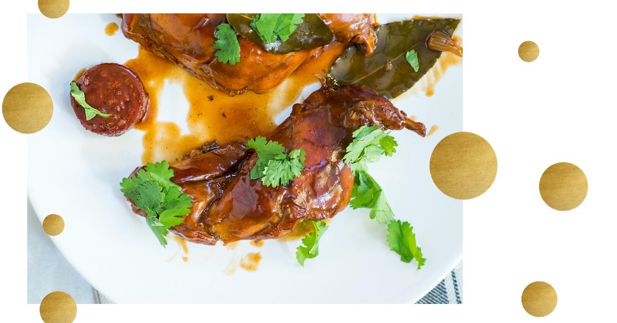 ons eigen recept met konijn ElsaRblog