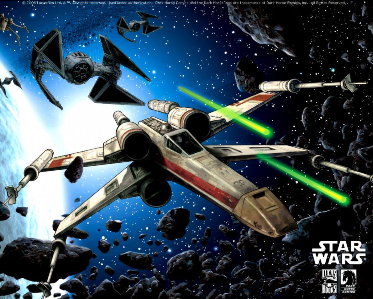 star wars x wing desktops dark horse comics