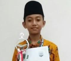 Muhammad Zaron Nasywa Peraih Medali Qori Terbaik pada Cabang Tilawatil Quran STQ Tarakan Kalimantan Timur