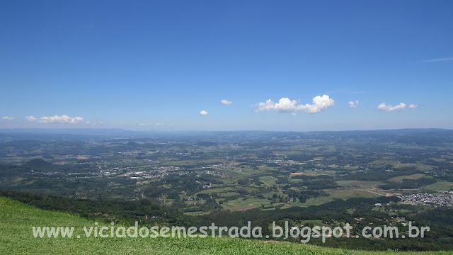 Bela vista da região de Sapiranga, Parobé e Araricá