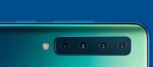 Samsung Galaxy A9 2018 with Quad Cameras