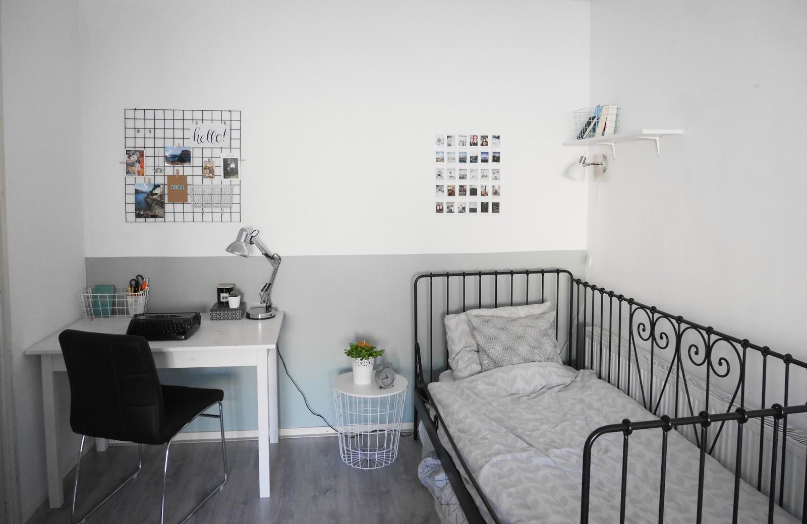 Mini room makeover een nieuwe kleur op de muur the budget life low budget lifestyle tips - Kamer kleur man ...