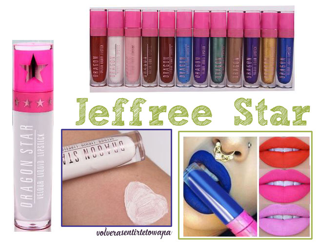 Labiales líquidos mate Jeffree Star en Aliexpress