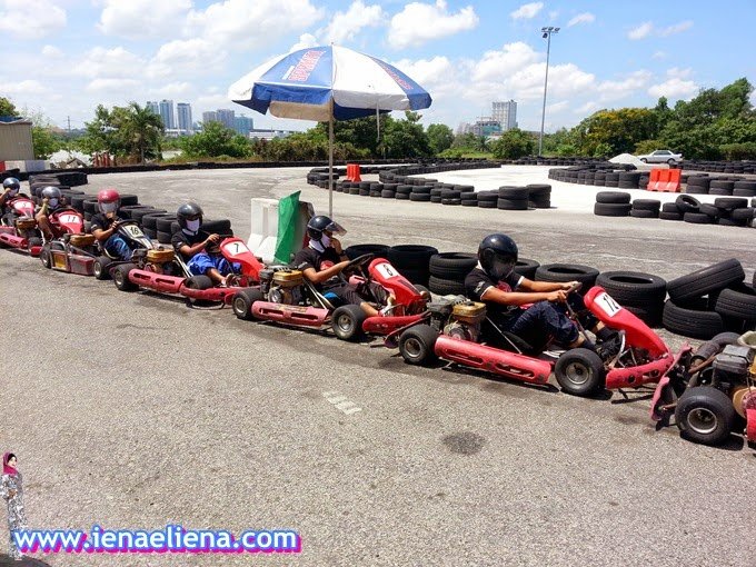 Go-Kart  - KBBA Blogger's Day Out