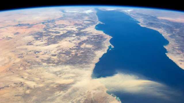 File Photo: Δορυφορική λήψη που δείχνει την πορεία της σκόνης από τη Σαχάρα EPA, NASA