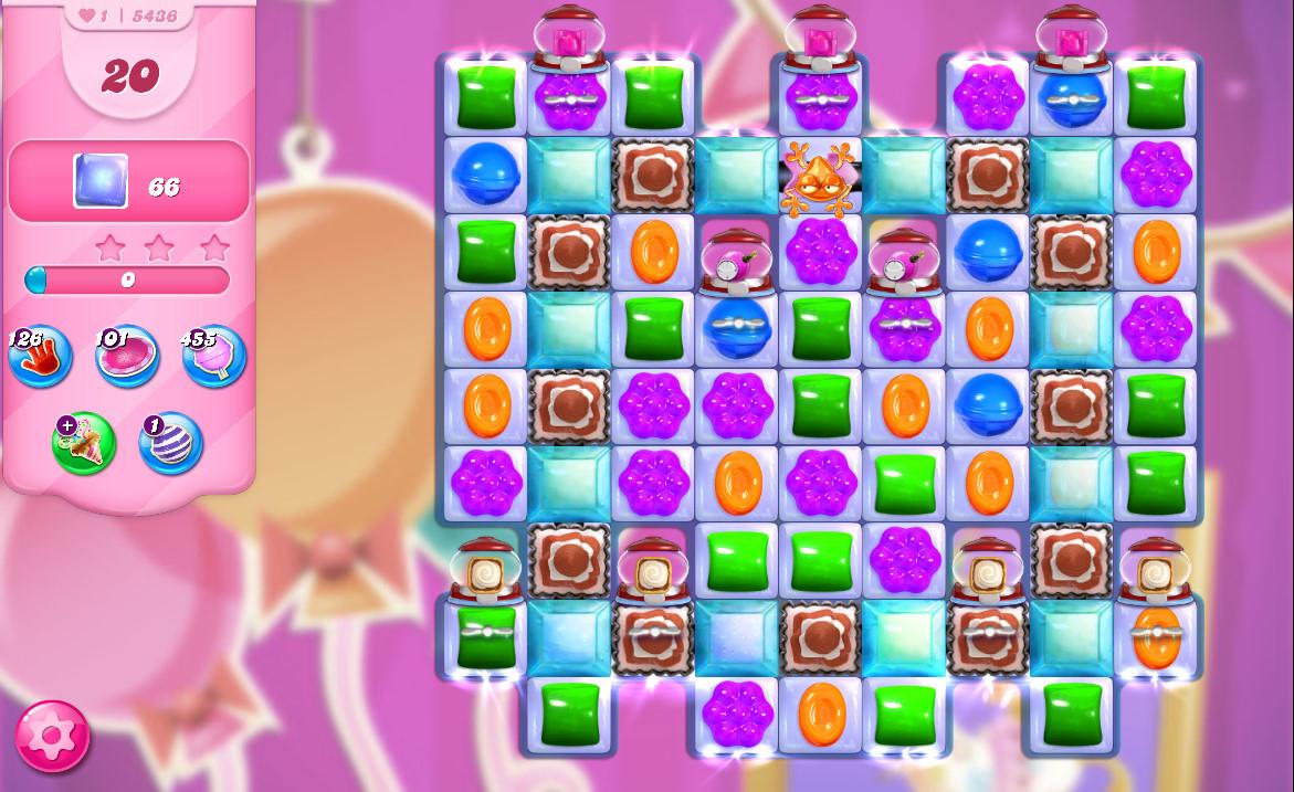Candy Crush Saga level 5436