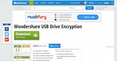 Cara Melindungi USB Flashdisk Anda Dengan Kata Sandi - Wondershare 1