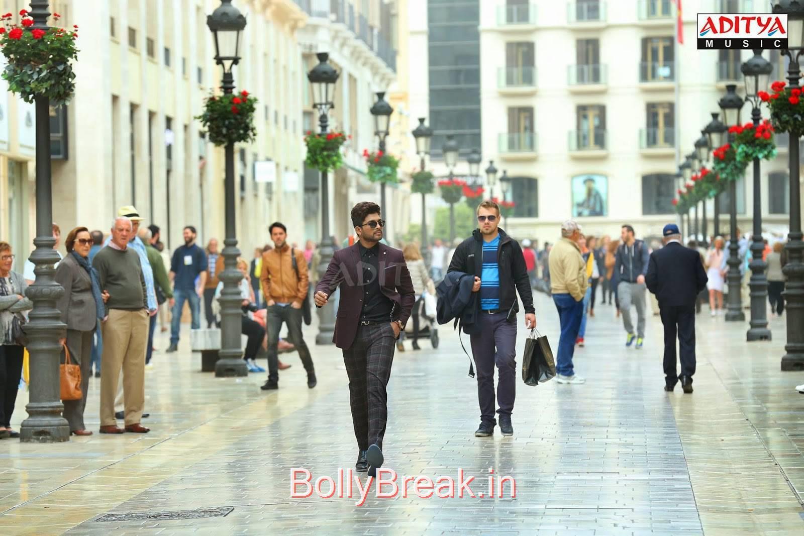 Allu Arjun-Son Of Sathyamurthy Film Latest Stills, Nitya Menon Hot HD Pics From Son Of Sathyamurthy Movie