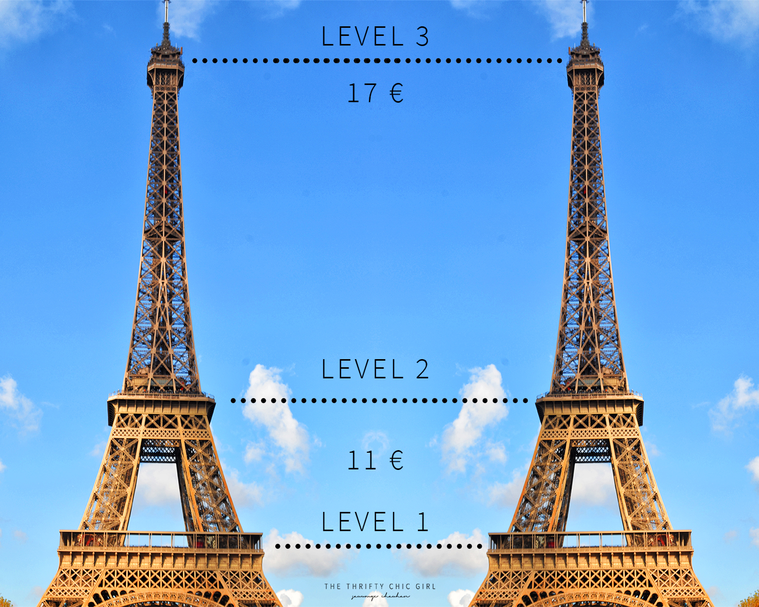 how much does a tour of the eiffel tower cost