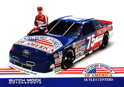 Todd Bodine #75 Butch Mock Racing Champions 1/64 NASCAR diecast blog