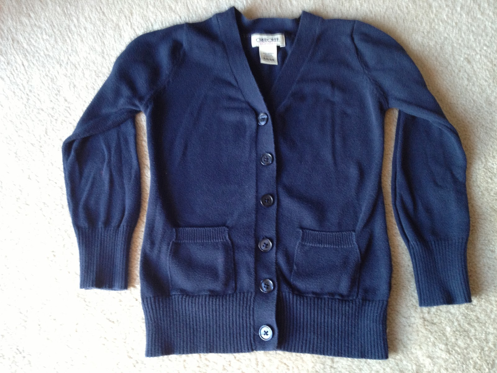 3ad351863c1 Cherokee Girls School Uniform Cardigan