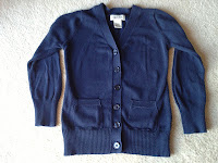 Cherokee Girls School Uniform Cardigan