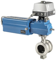 Metso Neles segment ball valve
