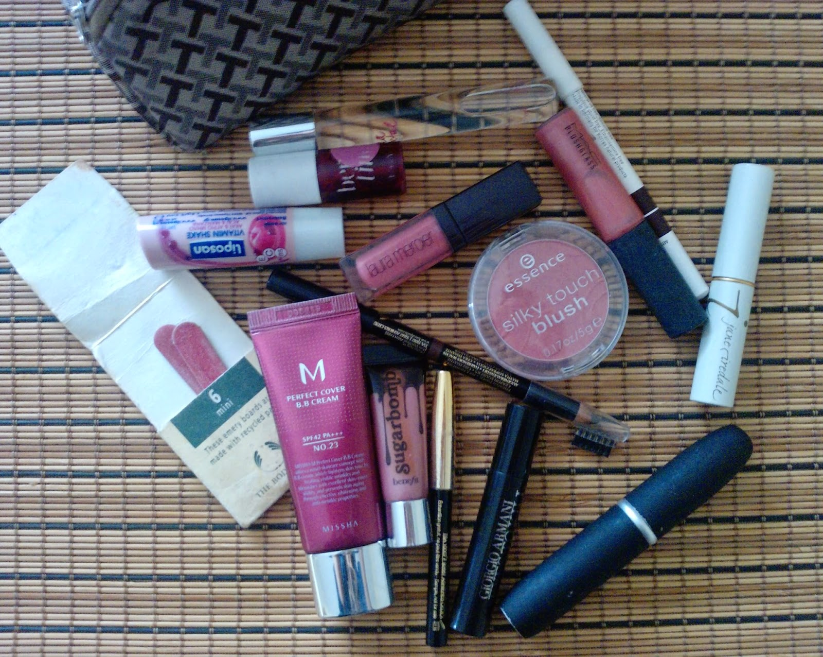My beauty bag products