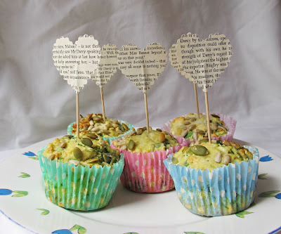 image cupcake toppers literature literary jane austen pride and prejudice handmade domum vindemia mr darcy elizabeth bennet
