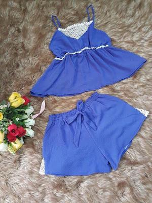 Set bộ áo 2 dây quần short đẹp giá rẻ