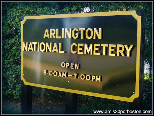 Cementerio Nacional de Arlington en Virginia