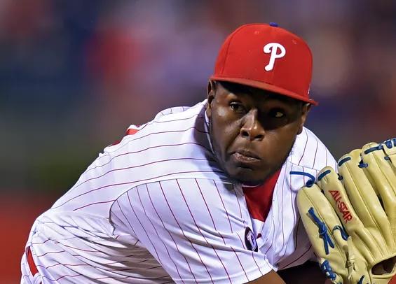 Philadelphia Phillies reliever Hector Neris