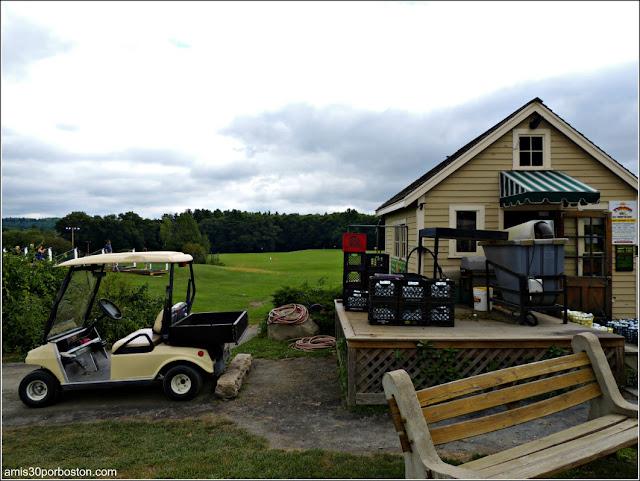 Granjas de Massachusetts: Driving Range de la Kimball Farm