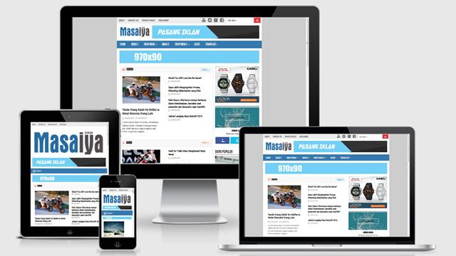 Seomas responsive Blogger template