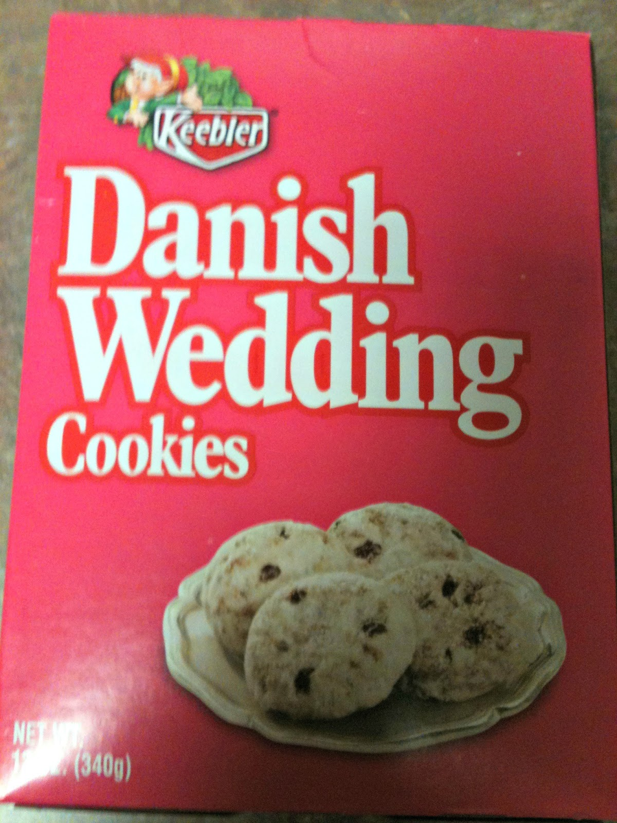 Danish Wedding Cookies.Keebler Danish Wedding Cookies House Cookies