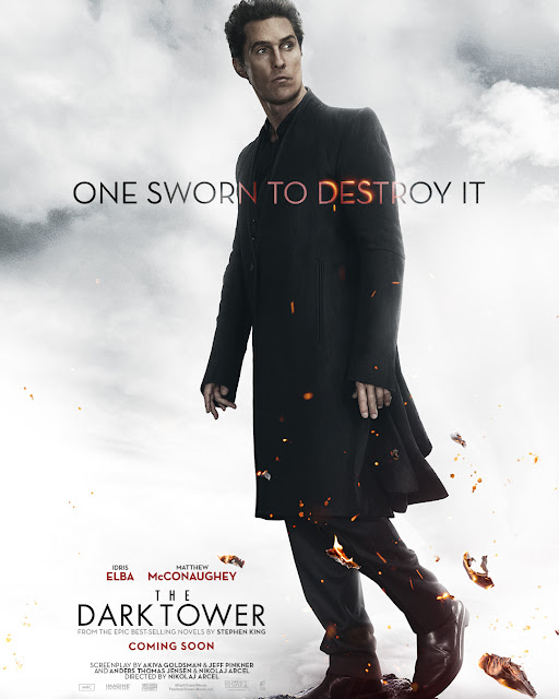 Matthew McConaughey - The Dark Tower Poster
