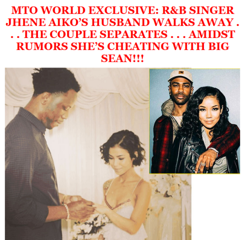 Barely a month after, Jhene Aiko reportedly splits from her Yoruba ...