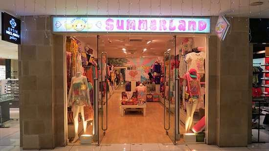 Surfer Girl From Summerland Discovery Shopping Mall
