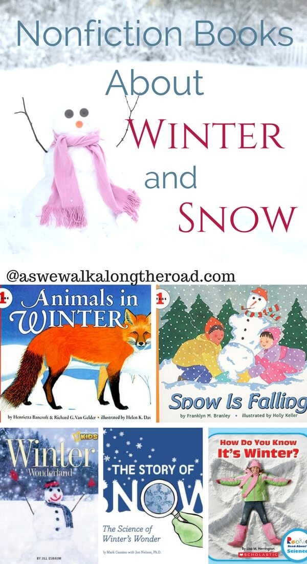 Nonfiction Kids Books About Winter