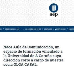 Aula de Comunicación. Olga Casal