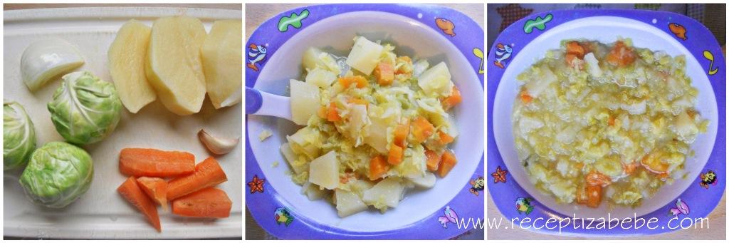 prokulice, prokelj, krompir i cesnjak za bebe