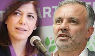 HDP milletvekilleri Ayhan Bilgen ve Meral Danış Beştaş için tutuklama