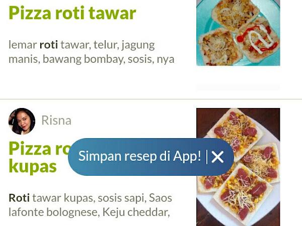 Bunda, Aku Mau Pizza