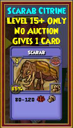 Scarab - Wizard101 Card-Giving Jewel Guide