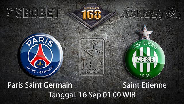 Prediksi Bola Jitu Paris Saint Germain vs Saint Etienne 16 September 2018 ( French Ligue 1 )