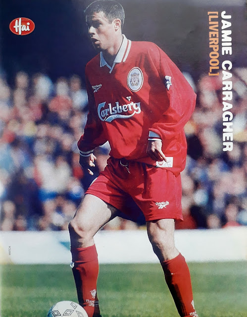 PIN UP JAMIE CARRAGHER (LIVERPOOL 1997)