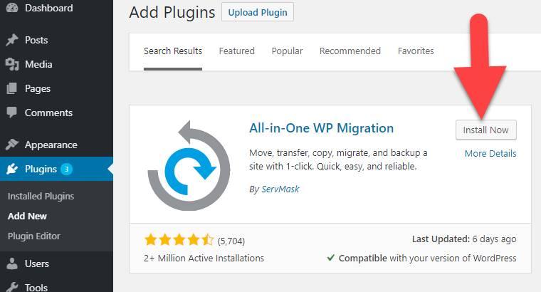 WP Migration Plugin