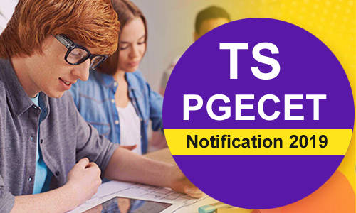 Telangana PGECET Notification 2019