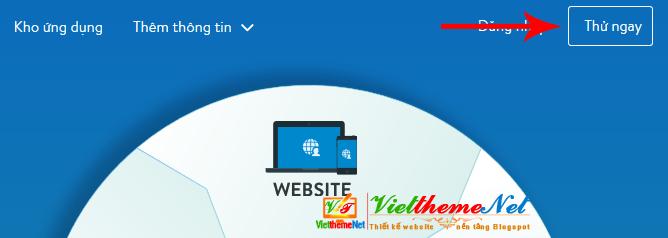 Dùng thử website haravan