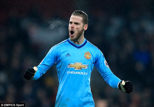 David de Gea is now the best in the world, says former Manchester United goalkeeping coach Eric Steele