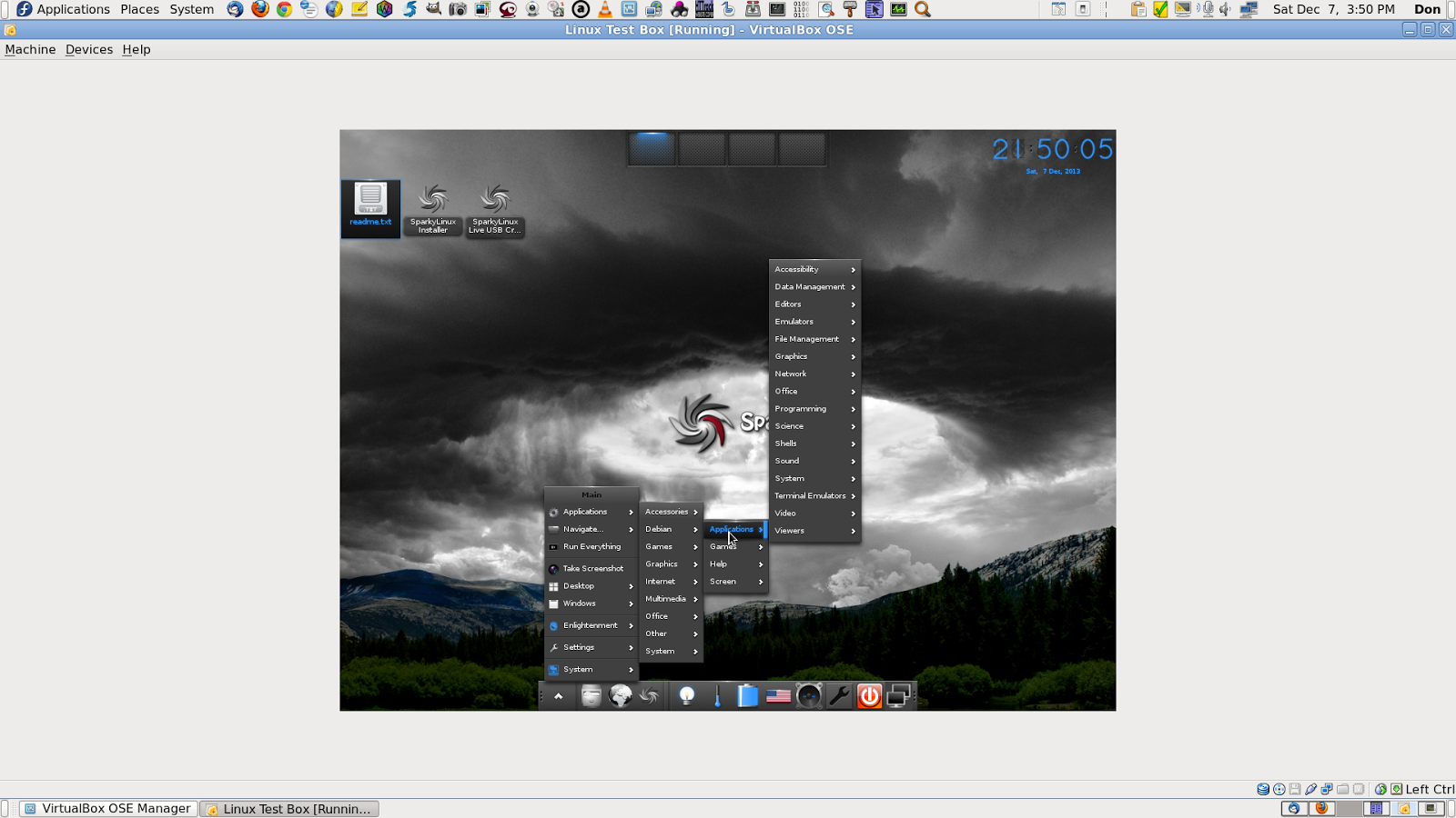 DonsDeals Blog: I'm trying out SparkyLinux, it's based on Debian Testing