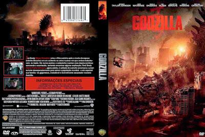 Filme Godzilla DVD Capa