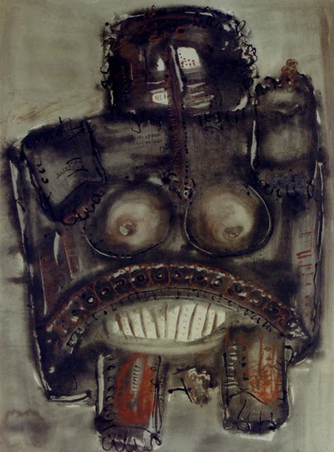 Agustín Alamán arte moderno contemporáneo dibujo desnudo denuncia social