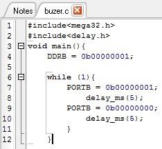 Coding buzzer