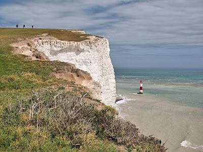 Kreidefelsen beachy-head leuchtturm england